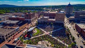 Concerts on the Square in Wausau, Wisconsin