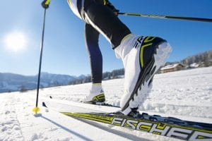 winter sports like cross country skiing in Wausau, Wisconsin